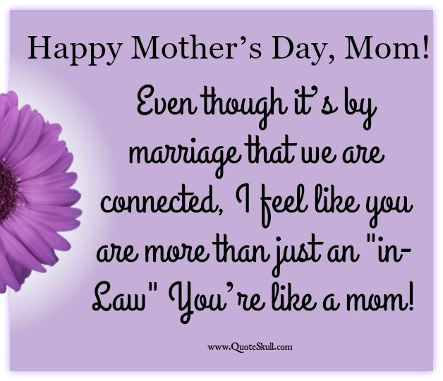 Mothers Day Quotes for My Mother in Law