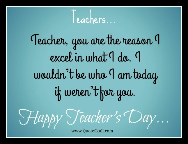 Happy World Teacher Day